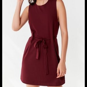 Urban Outfitters Penny Belted Mini Dress